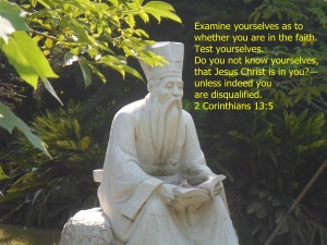 EXAMINE YOURSELF