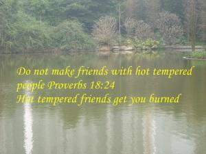 NO HOT TEMPERED