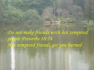 NO HOT TEMPERED