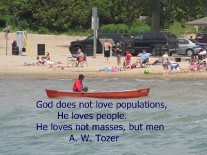 God  loveS populations,