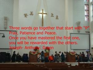 THE THREE PARTS OF PRAYER