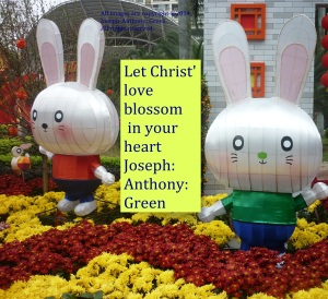 CHRIST'S LOVE BLOSSOM IN YOUR HEART