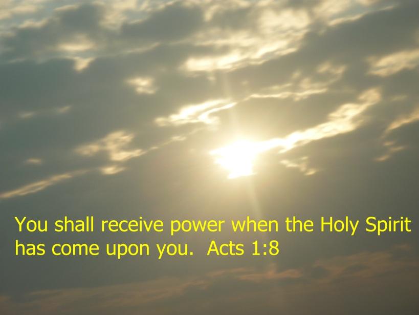 HOLY SPIRITS POWER