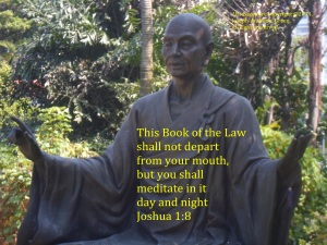 MEDITATE ON THE BOOK