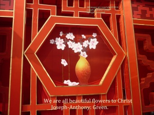 BEAUTIFUL FLOWERS TO CHRIST