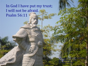 I TRUST GOD