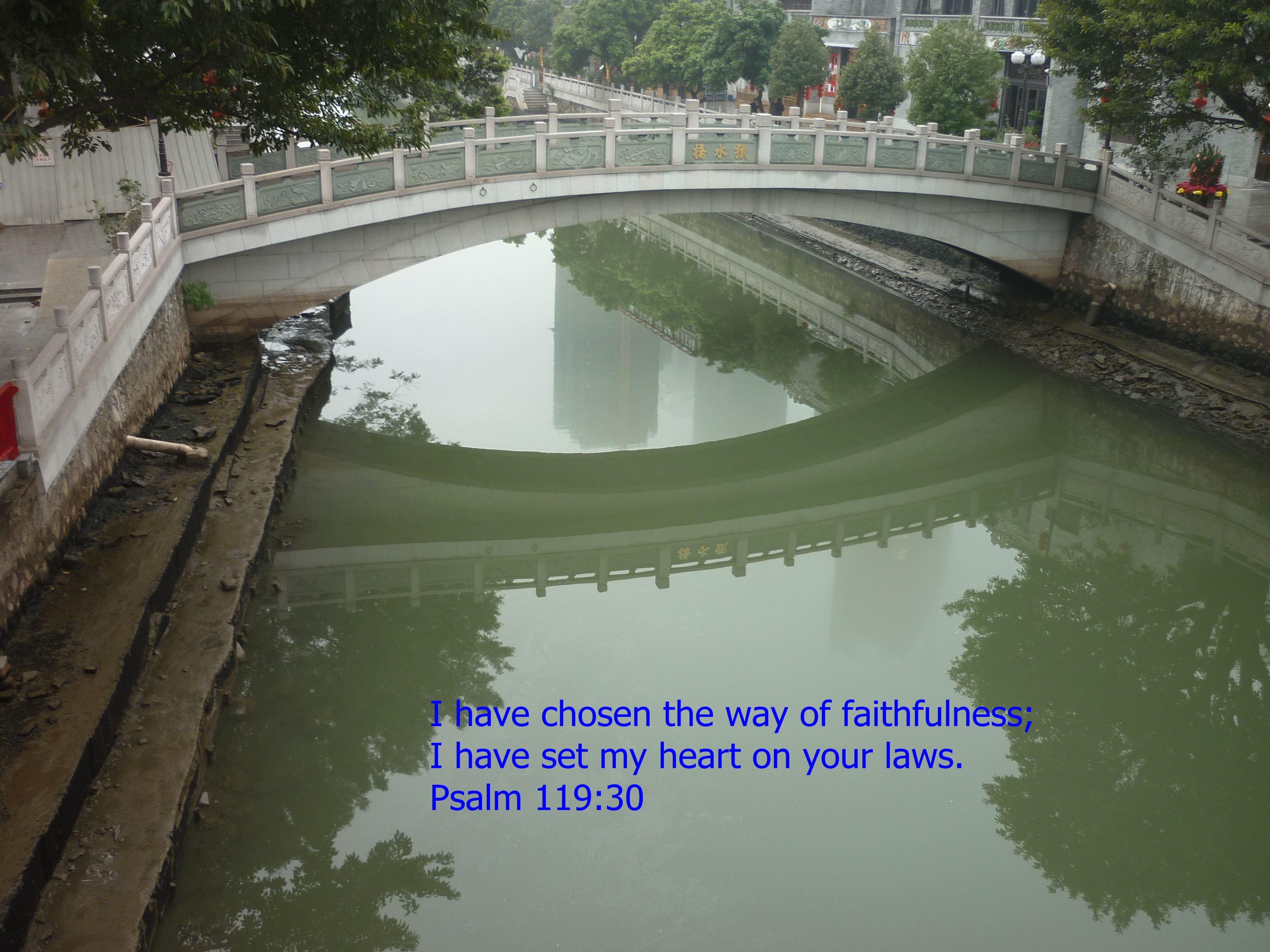 follow the river of life
