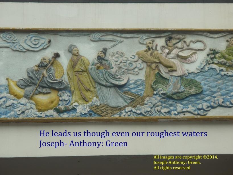 he leads us