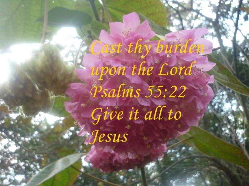 Give burden to Jesus