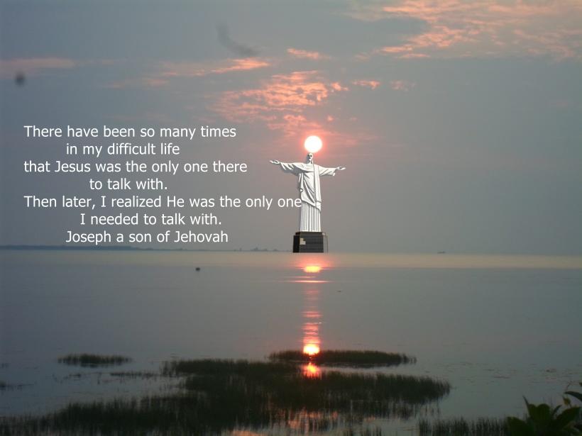 JESUS TALKS WITH ME