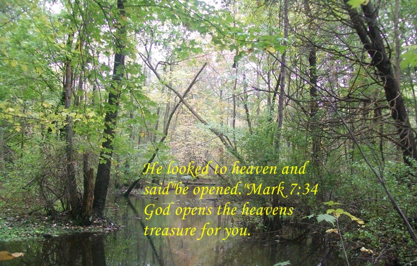 God opens Heaven